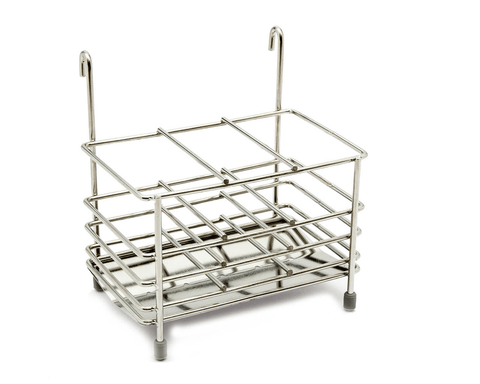 "Used with the ""Standing Dish Drying Rack"" (H09) for drying cutlery."