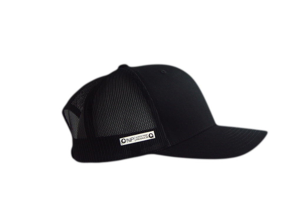 Load image into Gallery viewer, SILVER TAG BLK & WHT HAT