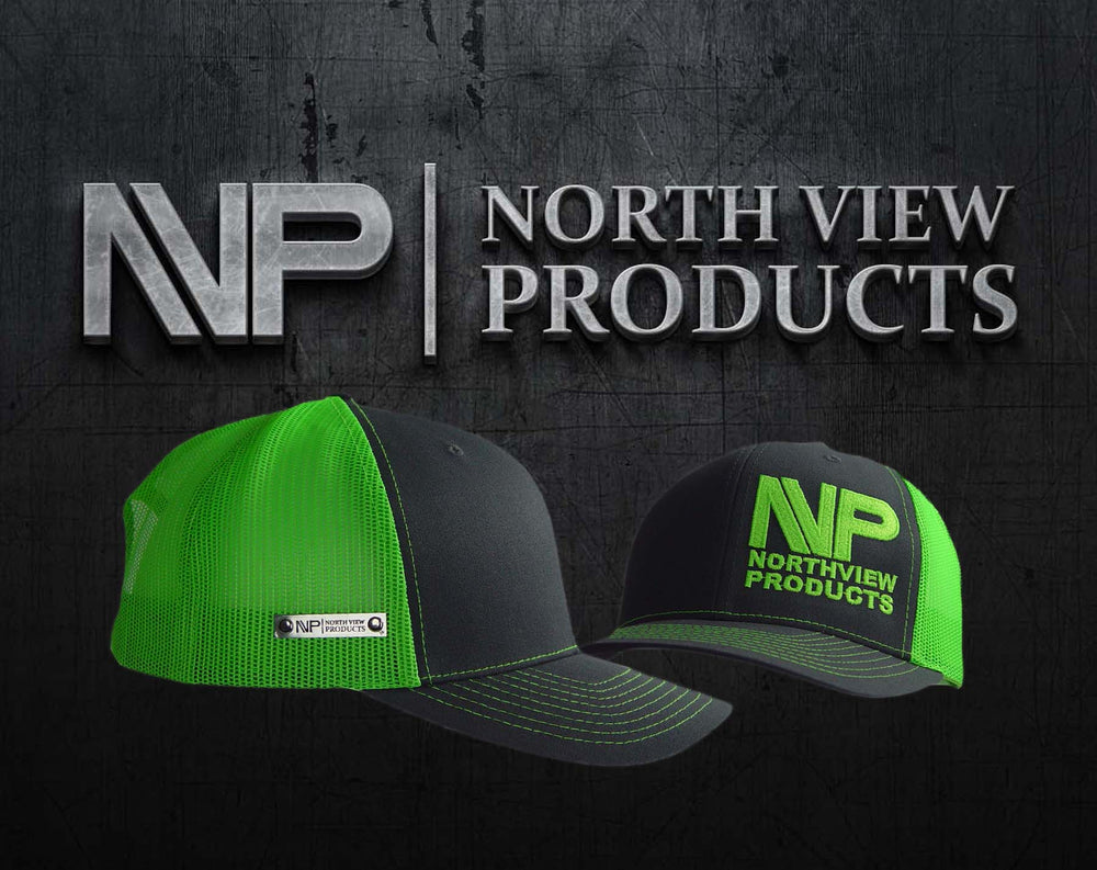 Load image into Gallery viewer, SILVER TAG CHR & NEON GRN HAT