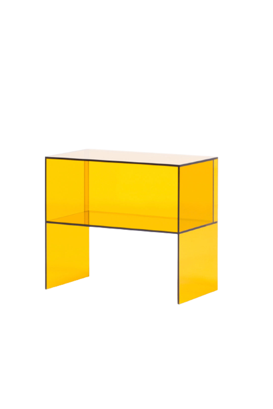 Perplexe Side Table Amber