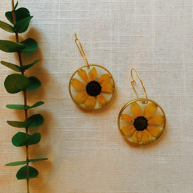 Black Eyed Susan with Hoops