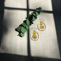 Daisy Sun Happy Tree Earrings