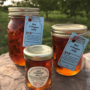 Hot 4 Pepper Jelly