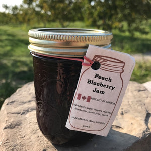 Peach Blueberry Jam