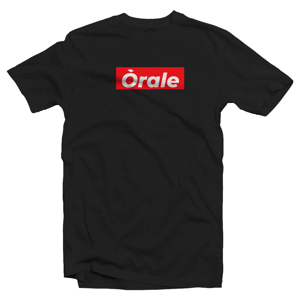 Orale Box Logo T-Shirt - SA Nostalgia Clothing