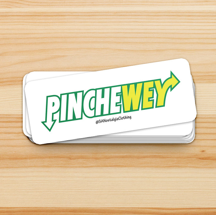 PincheWey Sticker - SA Nostalgia Clothing