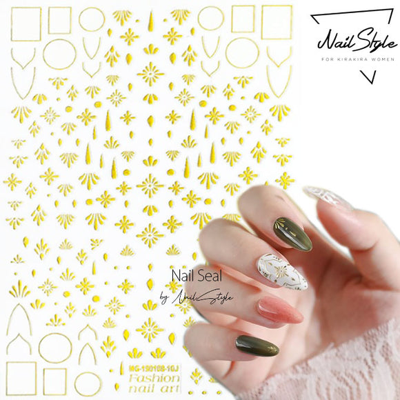 ネイルシール MG-190108-10J - NailStyle - For Kirakira Women
