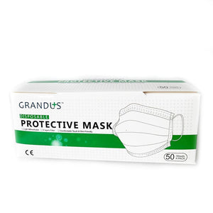 3-Ply Face Mask by Grandus  disposable (50/count)