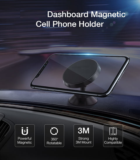 Universal Magnetic Car Phone Holder 360!