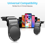 FONKEN Magnetic Car Phone Holder Car Mount Stand Air Vent Clip Mount Universal