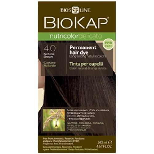 BioKap - Nutricolor Delicato (4.0 Natural Brown)