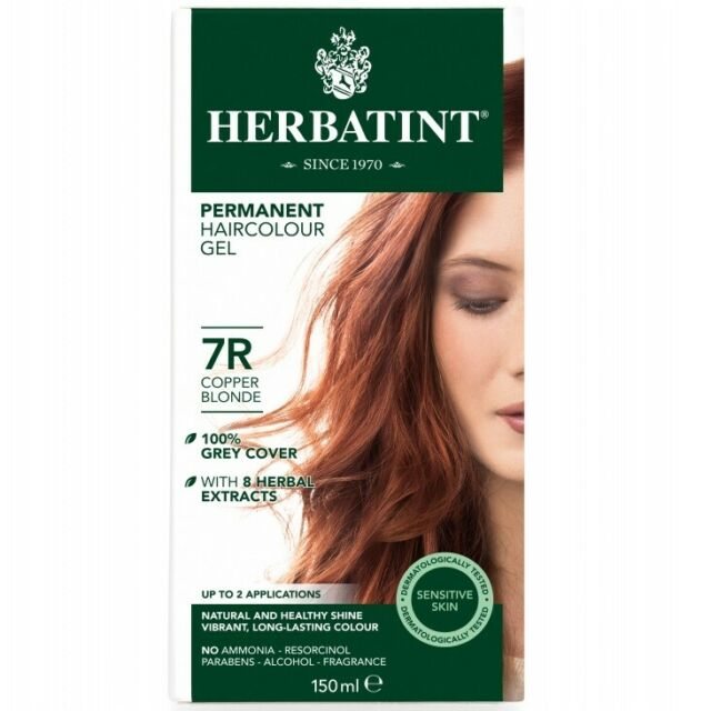 Herbatint - Permanent Haircolor Gel (7R - Copper Blonde)