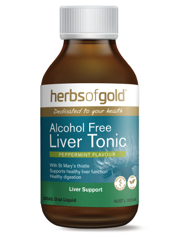 Herbs of Gold - Alcohol Free Liver Tonic