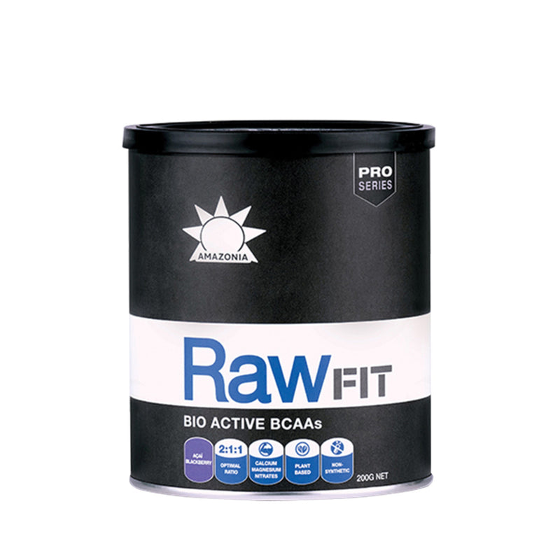 Amazonia - RAW Fit Bio Active BCAAs (Acai Blackberry)