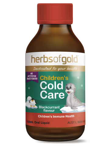 Herbs Of Gold - Children's Cold Care