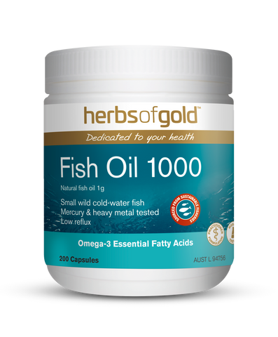 Herbs of Gold - Fish Oil 1000