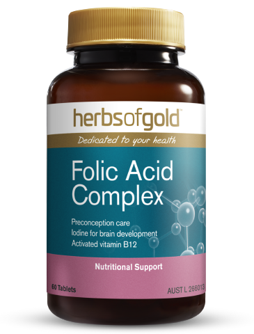 Herbs of Gold - Folic Acid Complex