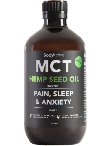 Body Active - MCT Oil with 10% Hemp Seed Oil