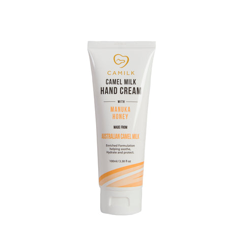 Camilk - Camel Milk Hand Cream + Manuka Honey (100ml)