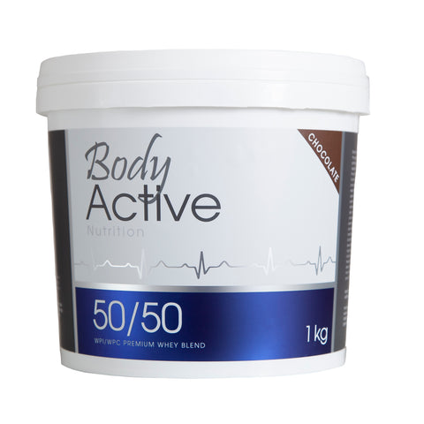 Body Active - 50/50 Chocolate Whey Protein Blend