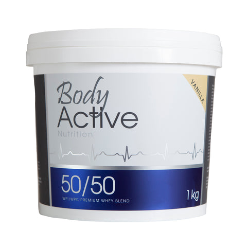 Body Active - 50/50 Vanilla Whey Protein Blend