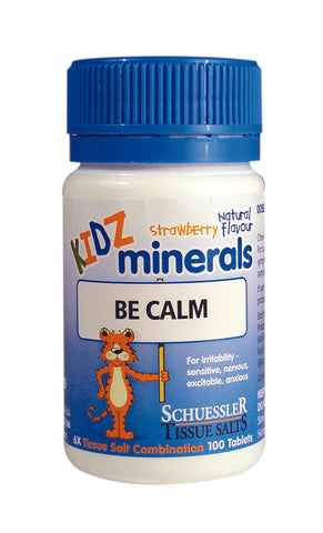 Schuessler Tissue Salts - Kidz Be Calm