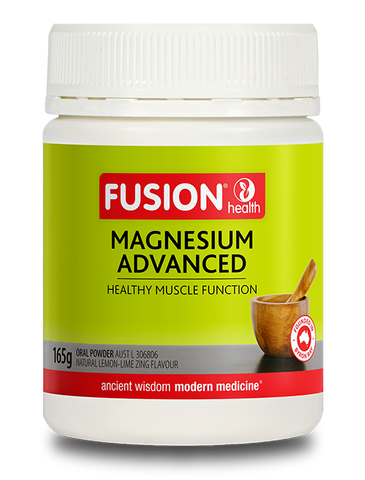 Fusion Health - Magnesium Advanced Powder (Lemon-Lime Zing)