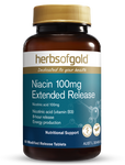 Herbs of Gold - Niacin 100mg Extended Release