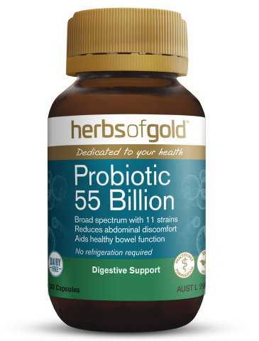 Herbs of Gold - Probiotic 55 Billion