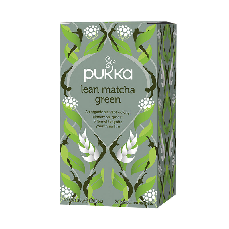 Pukka Tea - Lean Matcha Green