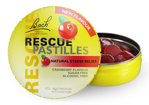 Bach - Rescue Remedy Pastilles (Cranberry)