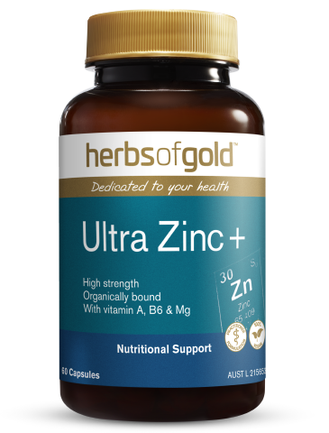 Herbs of Gold - Ultra Zinc+