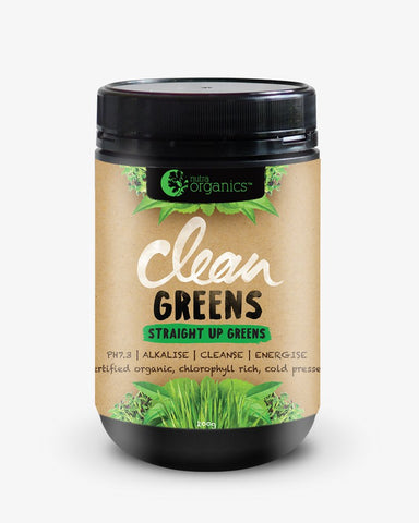 Nutra Organics - Clean Greens Powder