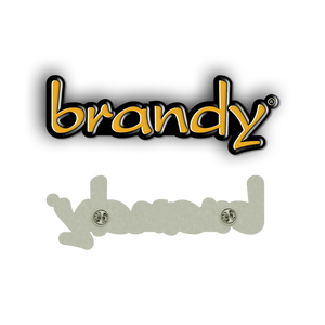 """Brandy"" Enamel Pin"