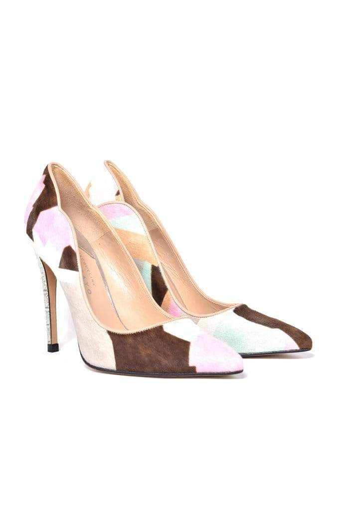 Aragon Printed Baby Calf Skin Stiletto - BYTRIBUTE