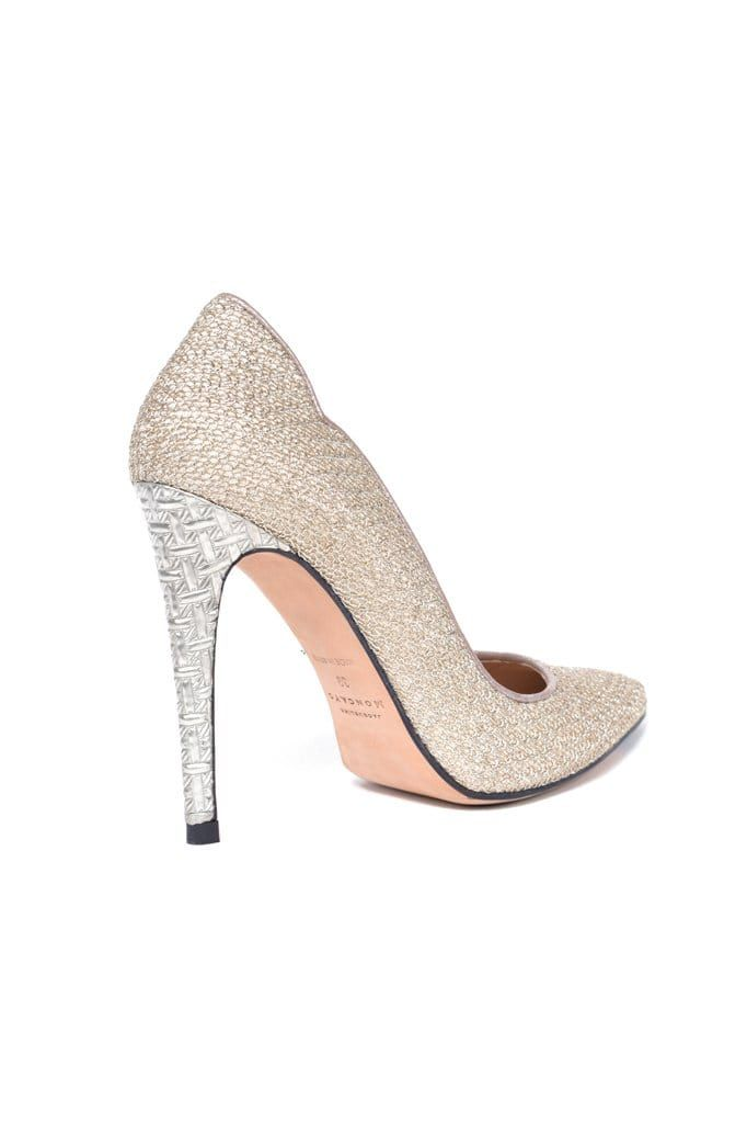 Almeria Metallic Mesh Pump - BYTRIBUTE