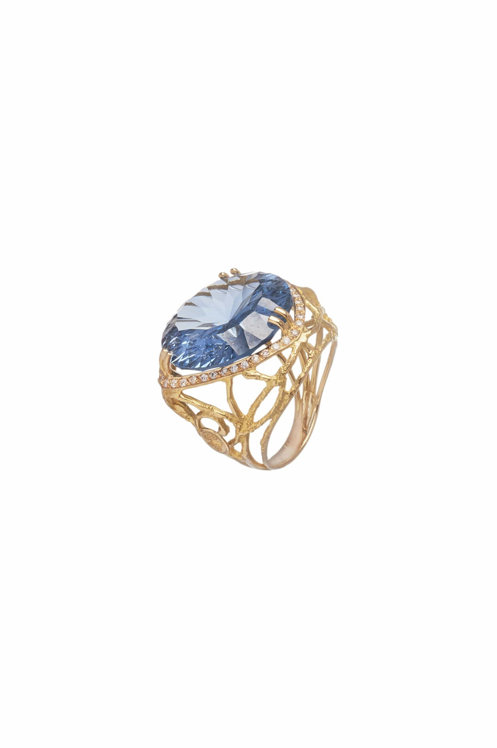 Topaz Cocktail Ring - BYTRIBUTE
