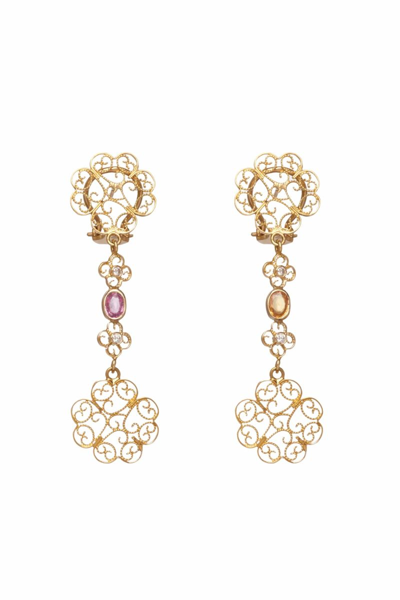 Filigree By Maria João Bahia Earrings - BYTRIBUTE