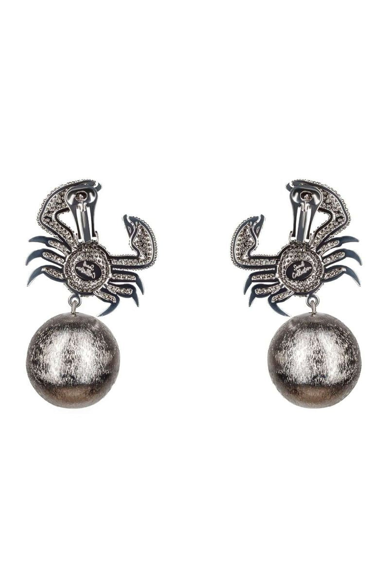 King Crab Crystal Earrings - BYTRIBUTE
