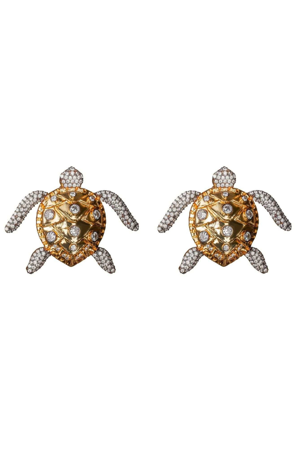 Sea Turtle Crystal Earrings - BYTRIBUTE