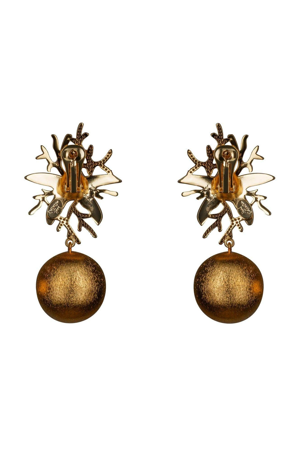 Corallina Crystal Earrings - BYTRIBUTE