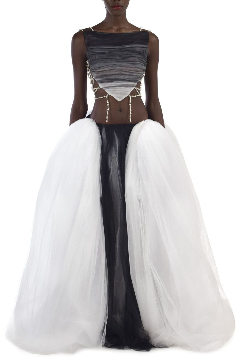 Pilar Volume Tulle Skirts - BYTRIBUTE