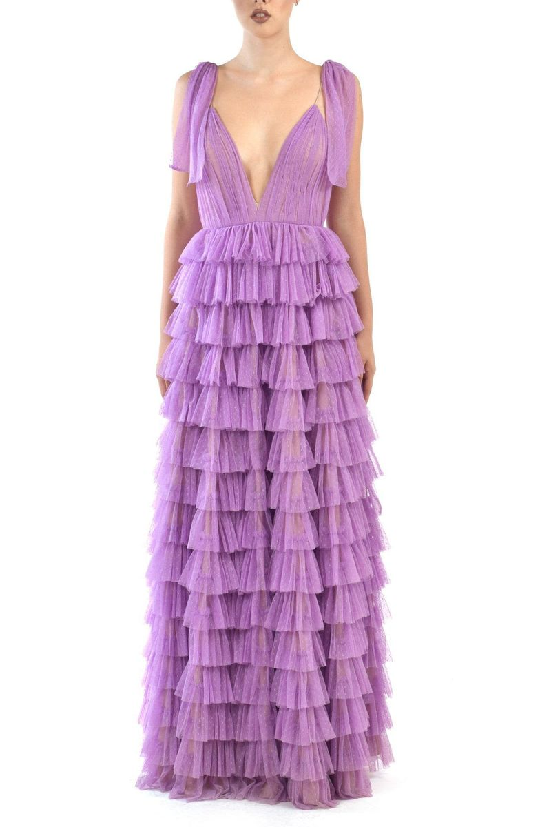 Amal Tiered Dress - BYTRIBUTE