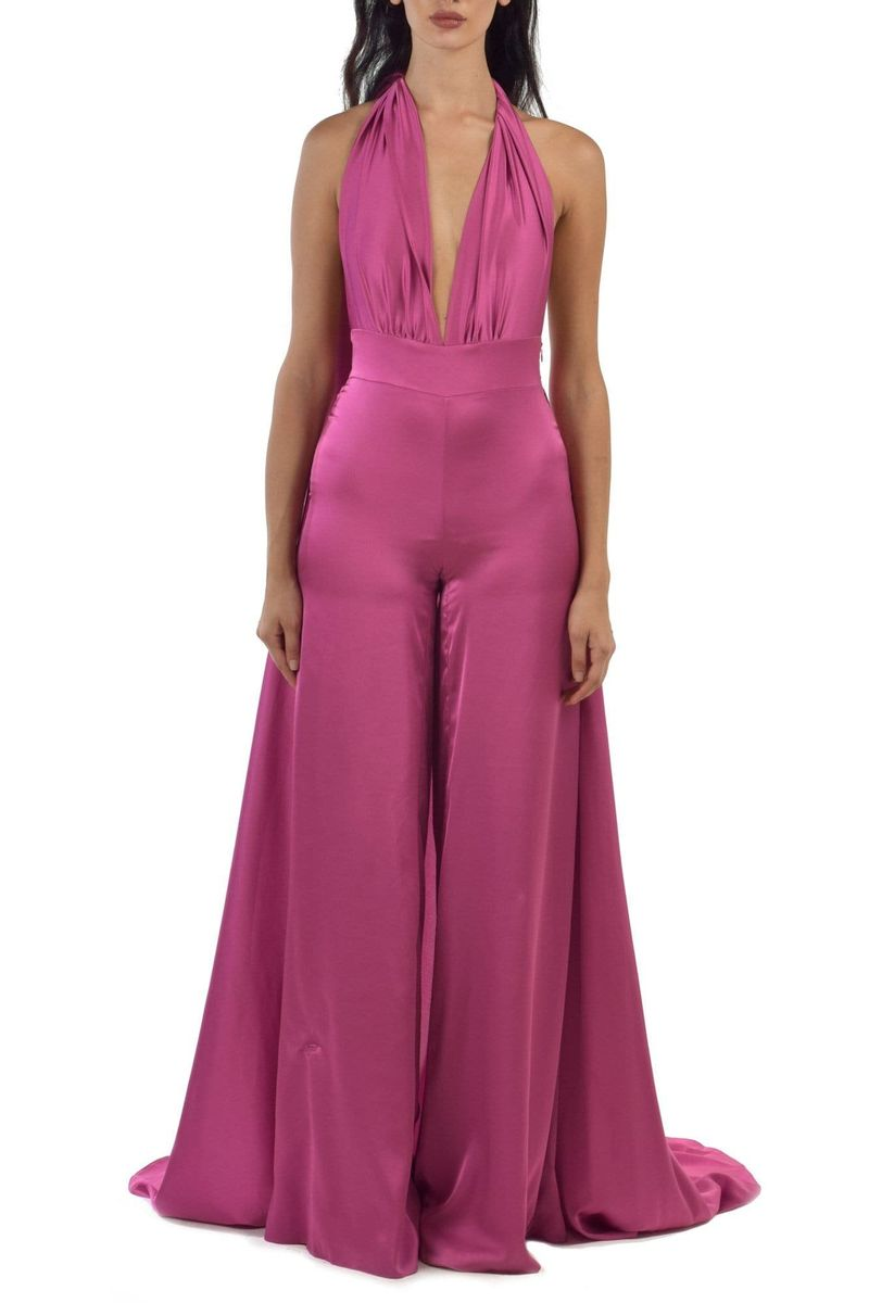 Pink Sleeveless Jumpsuit - BYTRIBUTE