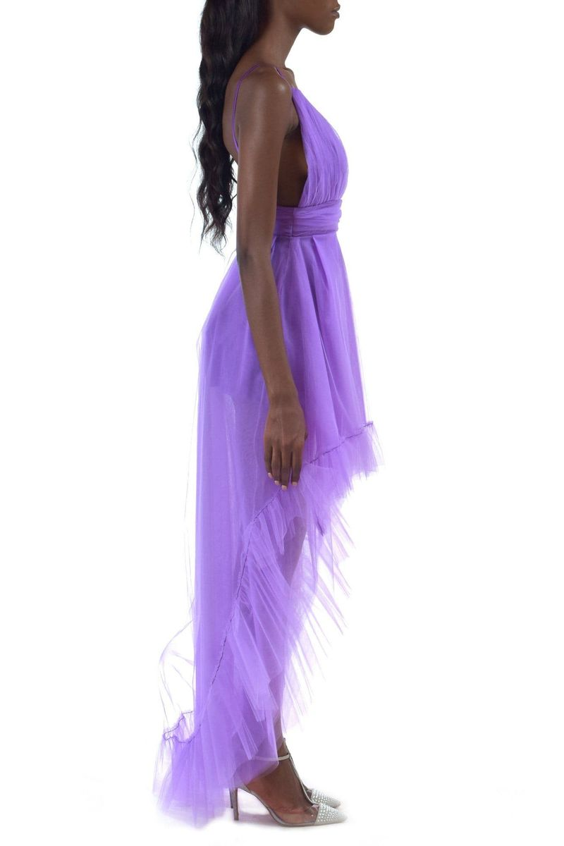 Purple Tulle Dress