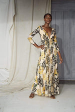 Yellow Manequin Dress - BYTRIBUTE