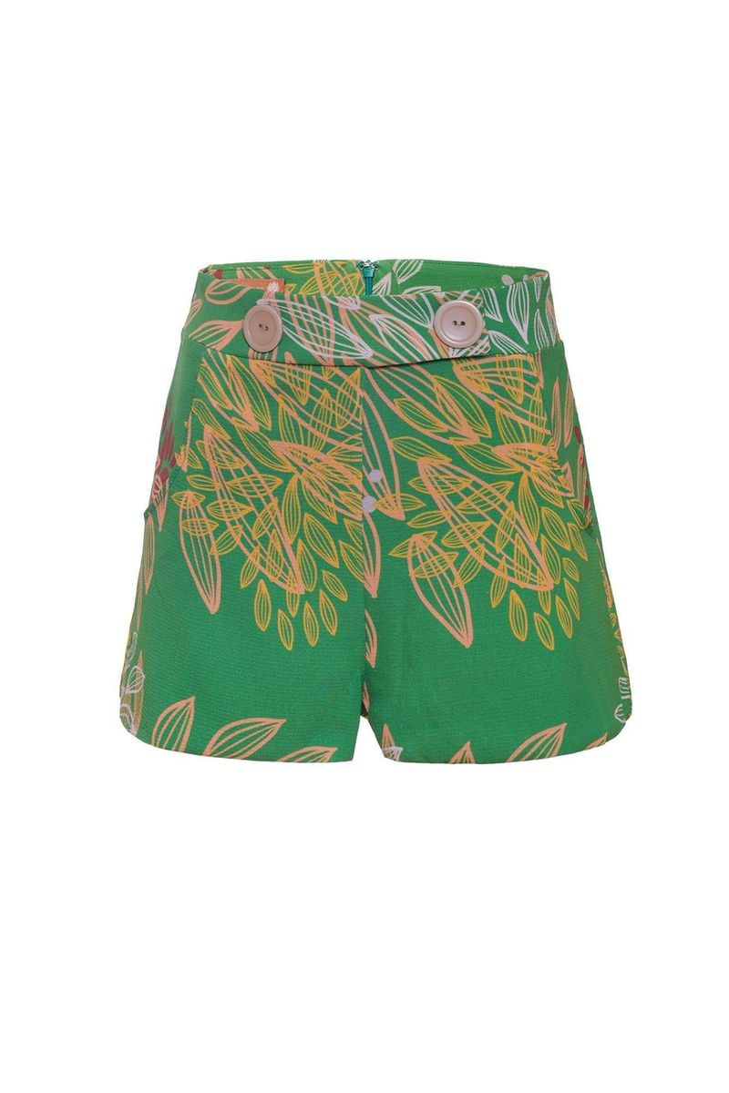 Green Sandpiper Shorts - BYTRIBUTE