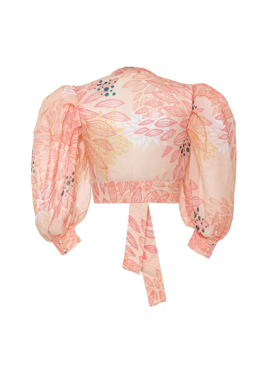 Peach Amazilia Blouse - BYTRIBUTE