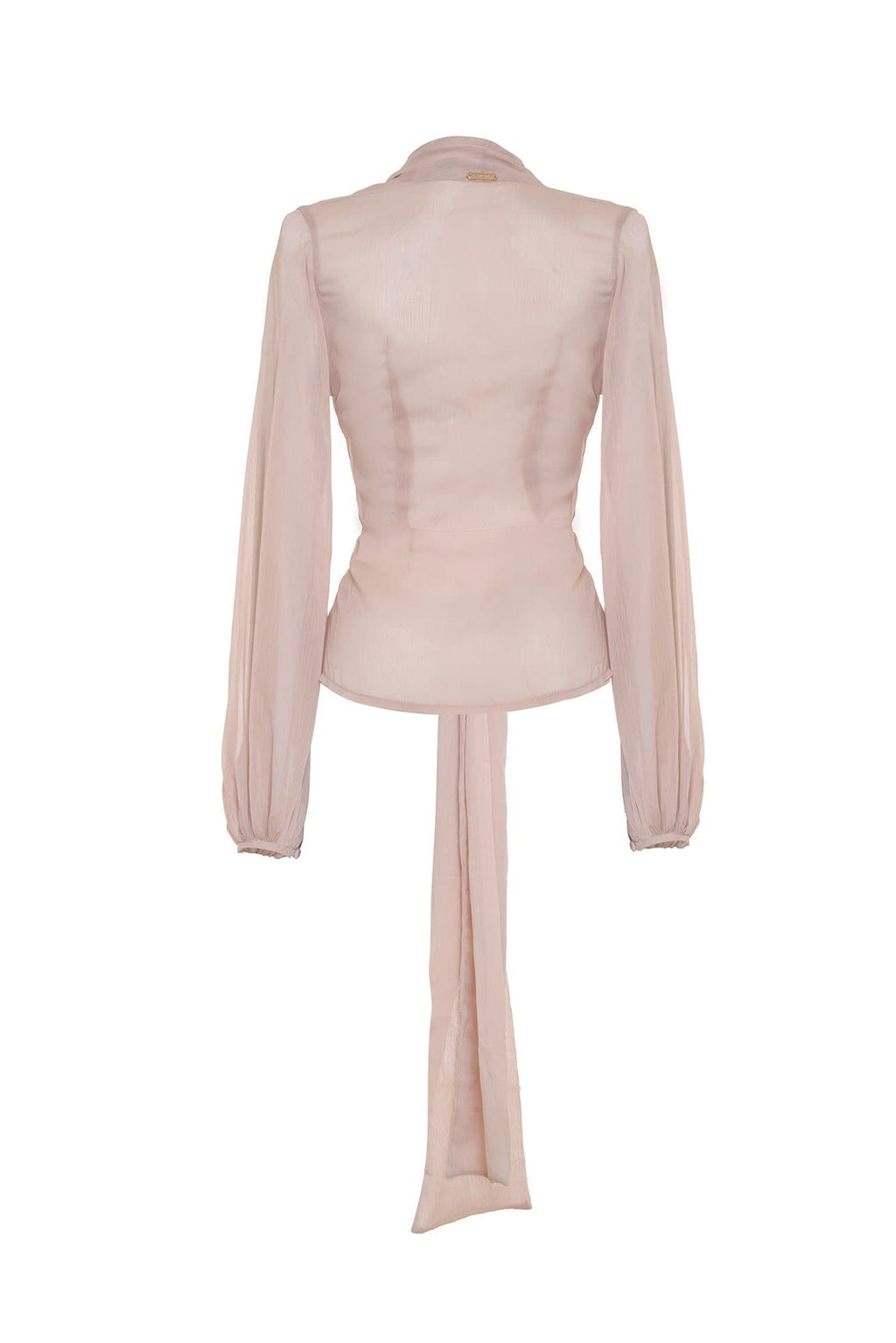 Nude Carlota Blouse - BYTRIBUTE