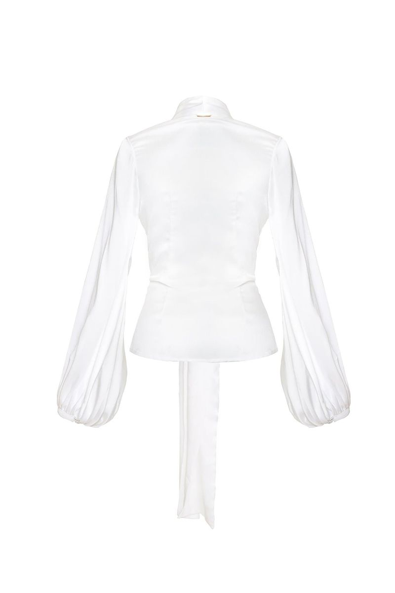 Ivory Carlota Blouse - BYTRIBUTE